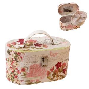 Tavaszi virág ékszertartóbőrönd