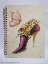 Flirty shoes notesz