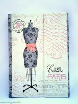 Párizsi divat notesz
