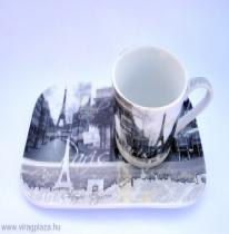 Párizsi kávés szett (2 db-os)