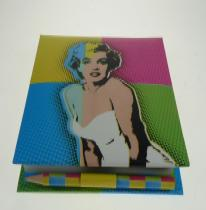 Pop Art Marilyn Monroe füzet
